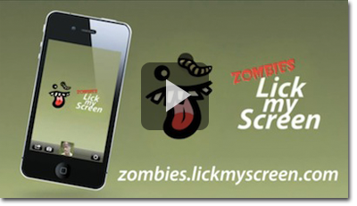 Zombies Lick My Screen Teaser Video
